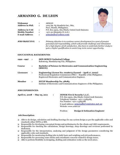 18 best resume format to use 2015 richard wood sop