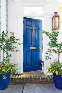 Bright Blue Front Door by 5 Ways To Increase Your Home S Curb Appeal The Shed