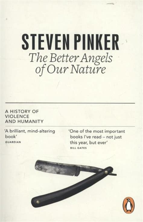 the better of our nature steven pinker bol the better of our nature steven pinker