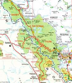 where is banff canada on a map banff national park explor8ion