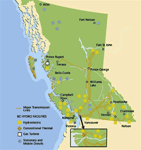 Search Bc Bc Hydro And Power Authority Knowbc The Leading Source Of Bc Information