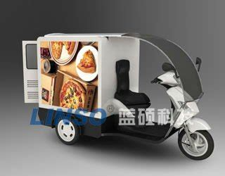 cooking light food delivery pizza delivery motorcycle tail boxes with heat insulation