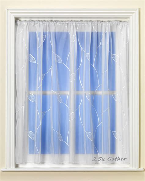 net curtain direct alice white voile curtain from net curtains direct