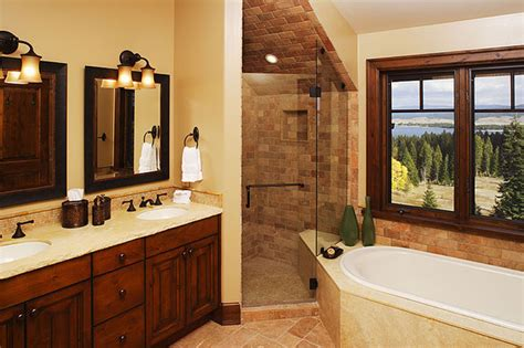 Modern Traditional Bathroom Rustic Modern 5 Bathroom Traditional Bathroom Boise By Trillium Interior Design