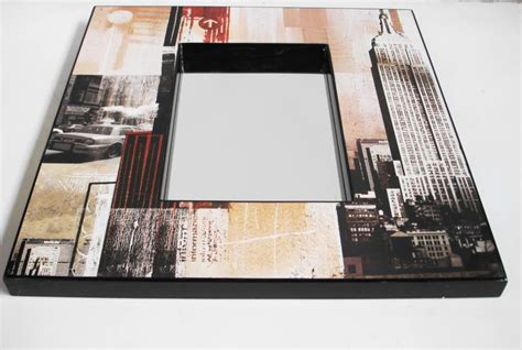 Granito Modern Nevica 60cm X 60cm large bathroom bedroom modern design new york themed mirror lacquer 60 x 60cm ebay