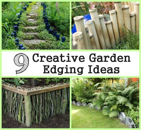 Diy Garden Edging Ideas 9 Creative Garden Edging Ideas
