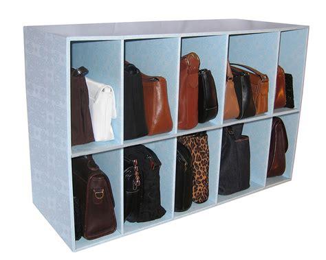 park  purse handbag holder heavy duty storage shelf