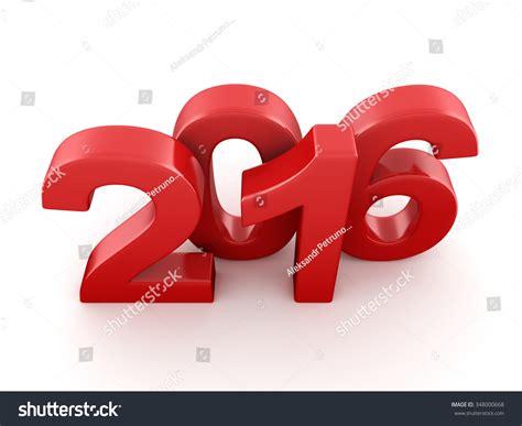 new year 2016 white background 2016 new year digits on white background stock photo