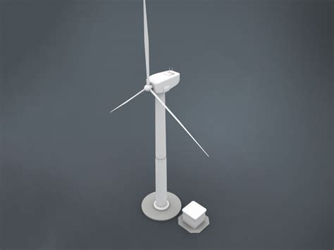 model electricity windmill