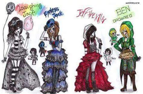 creepypastas como mujeres(? * * | we heart it | jeff the