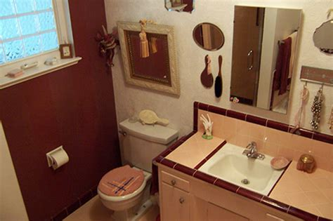 help peach brown bathroom tile bathroom tile help ideas archives retro renovation