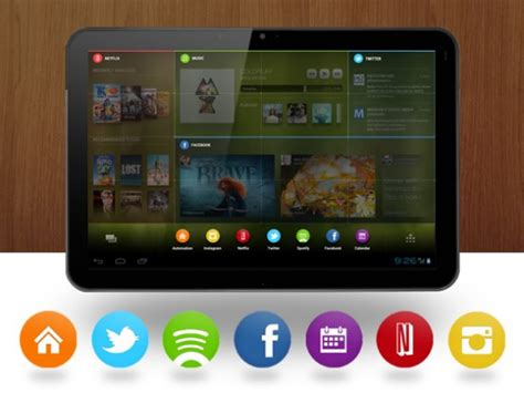 tablet launcher for android chamleon launcher looks to make your android tablet s home screen more beautiful and functional