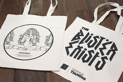 Totebag Blester 門小雷 the blister exists 後續精品 tote bag poster 邀請卡要儲 gameover hk