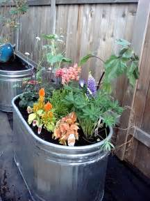 trough garden containers a single picture of flowers can make your container garden