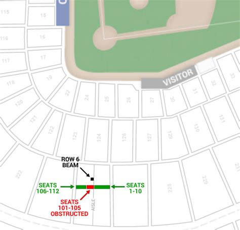 wrigley field view from seats seating chart chicago cubs wrigley field seating chart interactive map