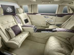 Stately Home Interior by Mercedes Maybach Pullman Unveiled With Massive Wheelbase