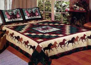 Leopard Print Duvet Cover Horse Quilt Bedding Twin Full Queen Or King Quilt