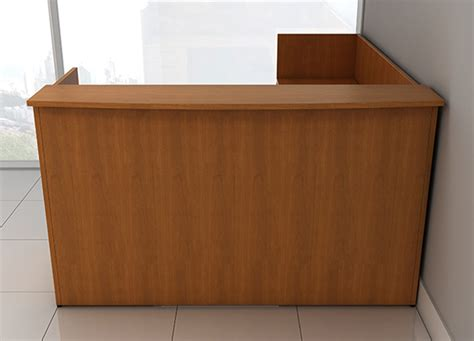 l shaped reception desk custom reception desk furniture