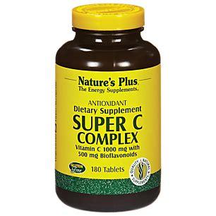 C Complex Natures Plus Vitamin C 1000 Mg Isi 60 product image for c complex 1000 mg 180 capsules