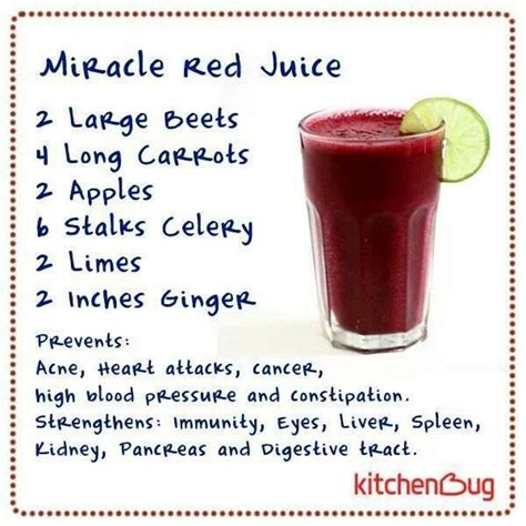 Fast Track Liver Detox Miracle Juice Recipe by Blood Pressure Chart For Juice Benefit And Smoothies