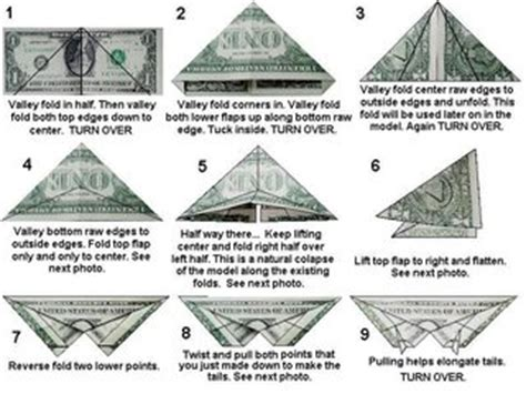 How To Make Money Origami Butterfly - origami make butterfly from a dollar bill