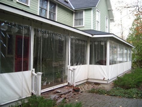 plastic curtains for porches installing vinyl porch enclosures bistrodre porch and