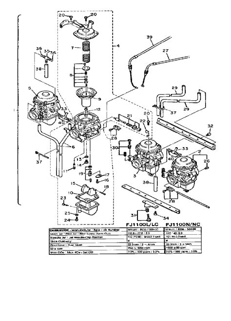 fj1100 wiring diagram wiring diagram with description