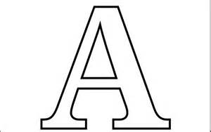 Letter Page Letter A Coloring Pages Preschool And Kindergarten