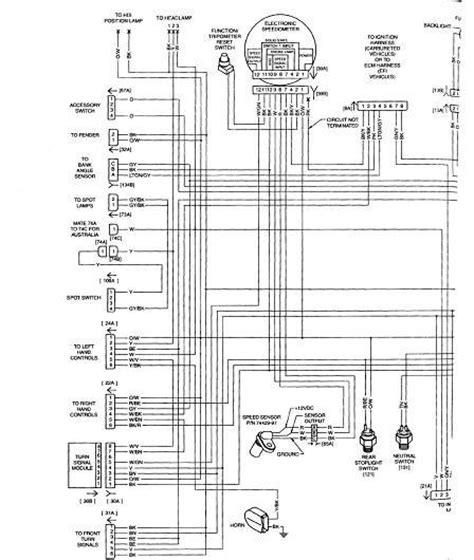1988 harley davidson softail wiring diagram