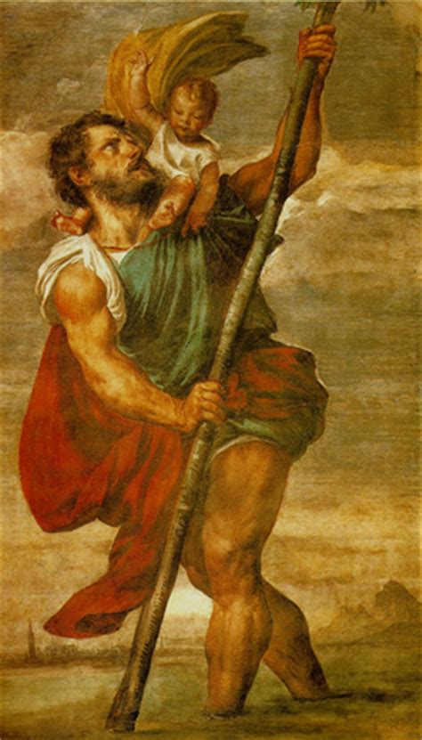 how did st christopher become a saint religion answers
