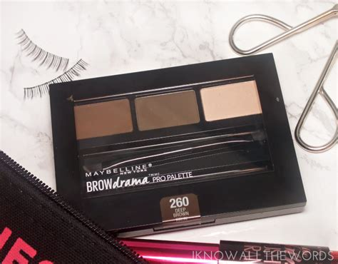 Maybelline Eyebrow Palette maybelline the falsies push up drama mascara brow drama