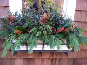 ideas for winter window boxes 1000 images about winter flower boxes on