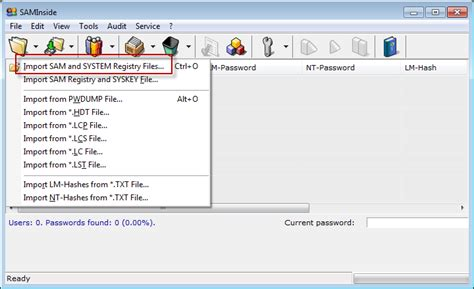 windows reset password sam file how to reset a forgotten windows xp logon password with or