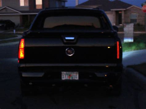 2005 cadillac escalade ext tail lights only ext with led tail lights