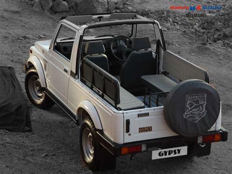 jeep jipsy maruti the advantage suv in india suv car