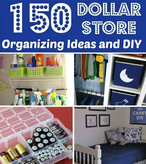 cheap organization ideas diy crafts 150 dollar store organization ideas and