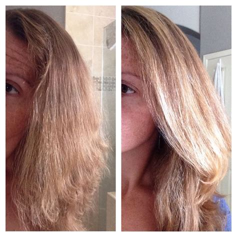 Clairol Shimmer Lights Shoo Before And After