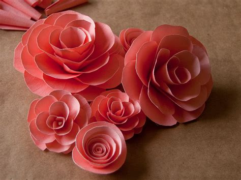 How To Make Paper Flowers Roses - the canopy artsy weddings weddings