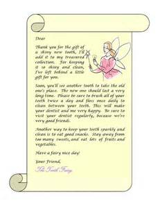 tooth fairy letter etheridge family dentistry