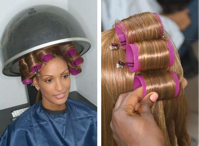 how to set hair with rollers for a pixie cut image gallery roller set