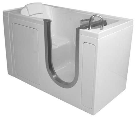 ada compliant bathtub ella 55 quot x30 quot deluxe walk in ada compliant bathtub