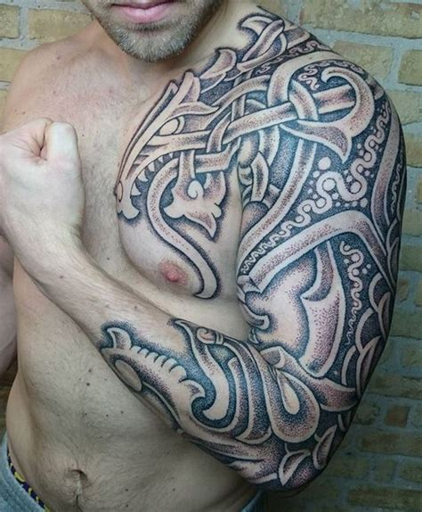 7 beautiful norse tribal tattoos 50 best viking tattoos for images on