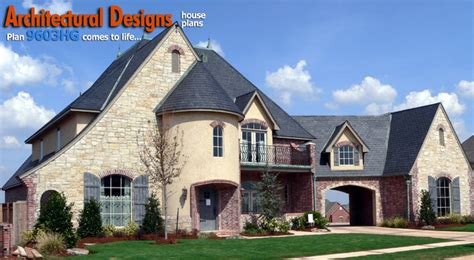 architectural designs  bedroom european house plan hg traditional exterior oklahoma