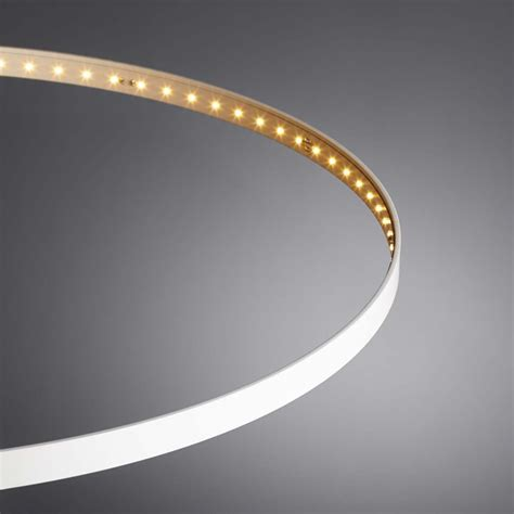le led circulaire suspension circle 248 60 blanche le deun luminaires d 233 co en ligne suspensions lustres design