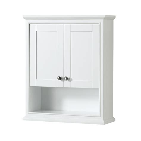 Modern Bathroom Wall Cabinet Deborah Toilet Wall Cabinet By Wyndham Collection White Free Shipping Modern Bathroom