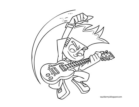 printable coloring pages johnny test free coloring pages of johnny test