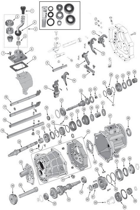 jeep ax15 transmission parts for 1987 1999 wrangler tj yj