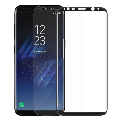 Tempered Glass Samsung Galaxy Fame 2pcs pack cover screen protector for samsung galaxy s8 mag