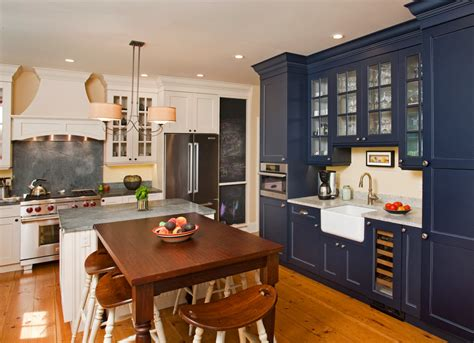 blue galley kitchen cottage kitchen arent pyke farmhouse blue kitchen cabinets quicua com