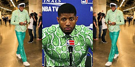 fashion for paul george part in hair paul george is or has been banging roy hibbert s wife
